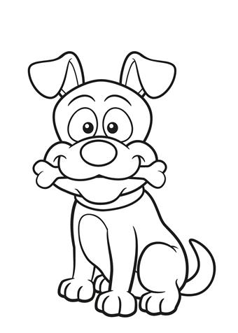 Voetstappen Kleurplaat Afbeeldingsresultaat Voor Hond Kleurplaat Draw Dog