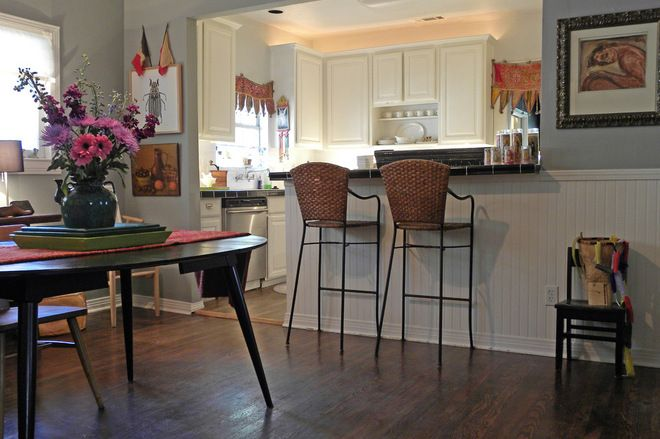 What To Know Before You Tear Down That Wall Eclectic Dining Room Open Concept Kitchen Living Room Dining Design