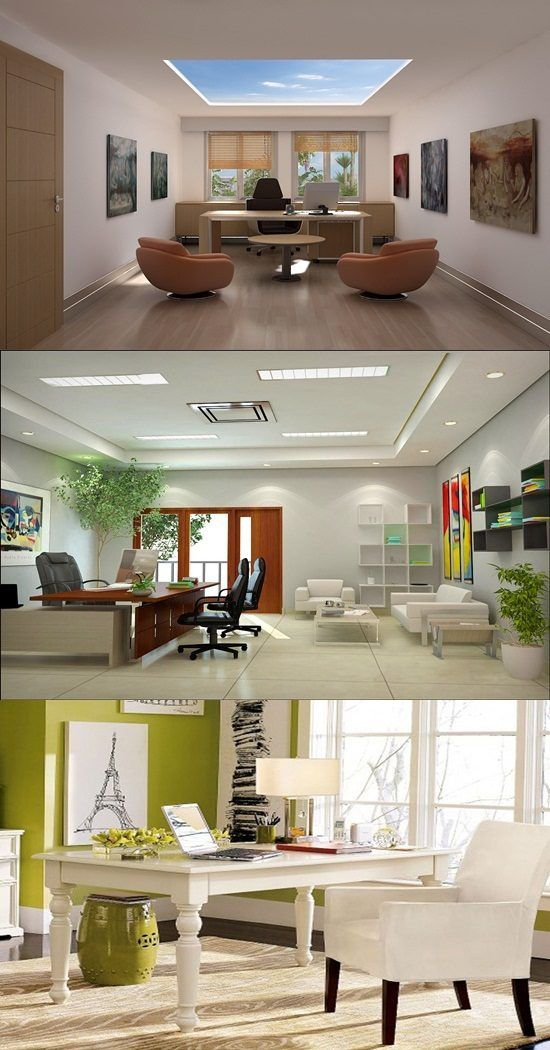 running home office. Perfect Home Office Interior Design - Your Should Look Nice And Energetic To Stimulate You Work Hard. Since Lots Of People Are Running