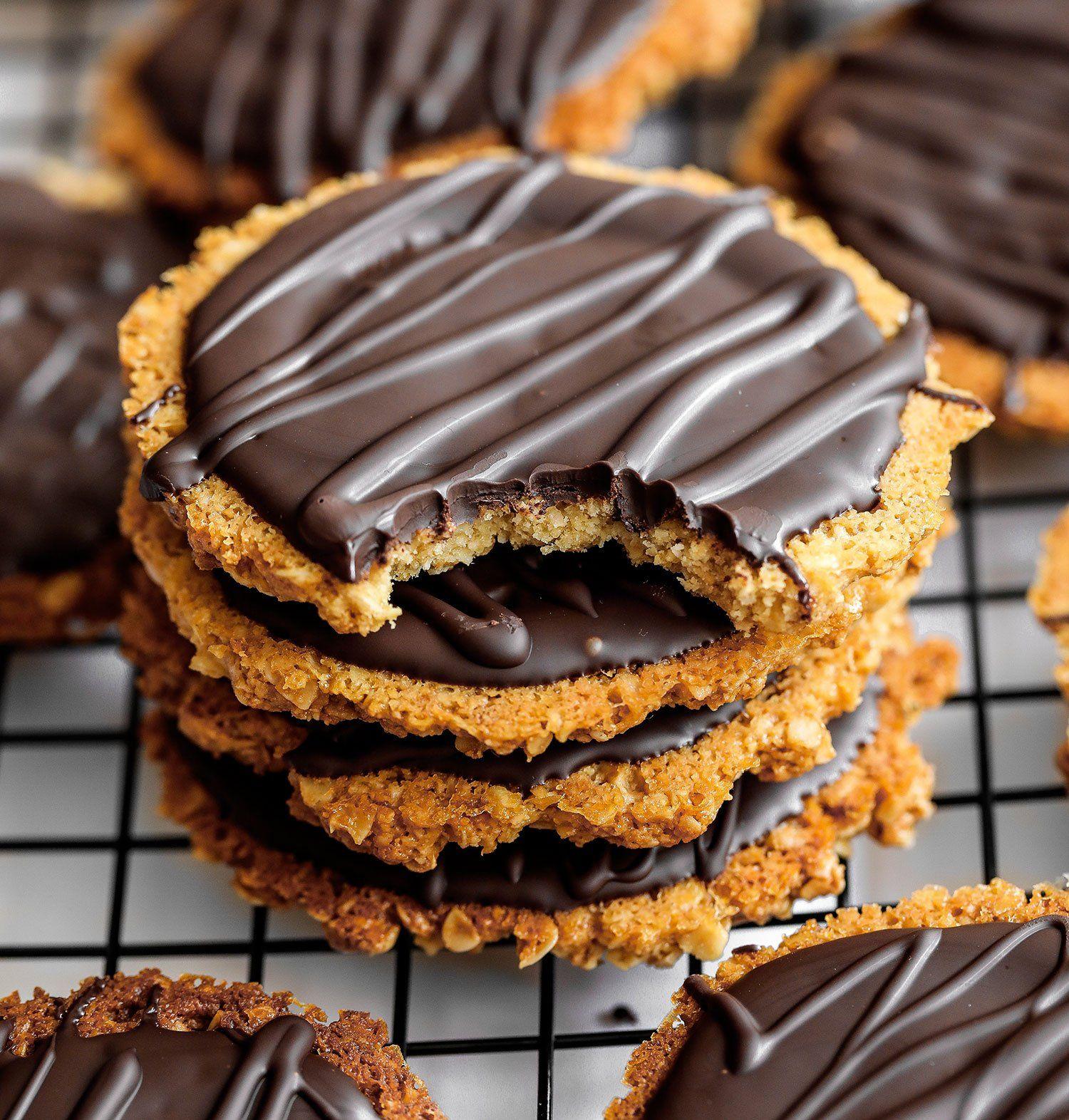Homemade Chocolate Hobnobs Vegan Gluten Free Recipe Homemade