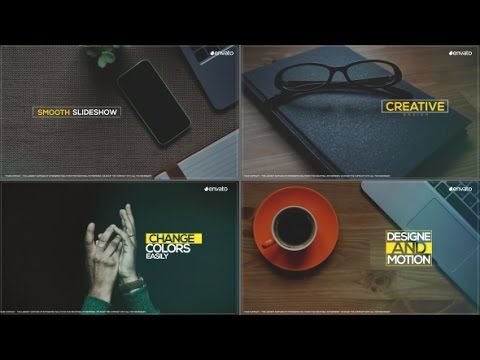 Smooth Slideshow After Effects Template After Effects Templates - Ae slideshow template free