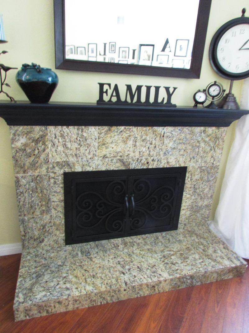 Custom Made Fireplace Door From Fireplace Door Guy In California