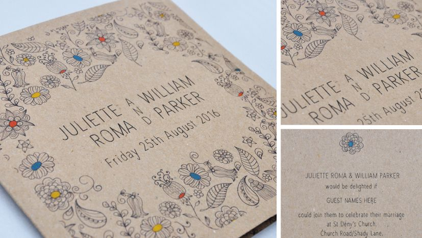 Paperchain Is Launching A New Range Of Eco Friendly Wedding Stationery  Produced On Recycled Paper Stocks. Natural Wedding Stationery Is The First  Of The Eco ...