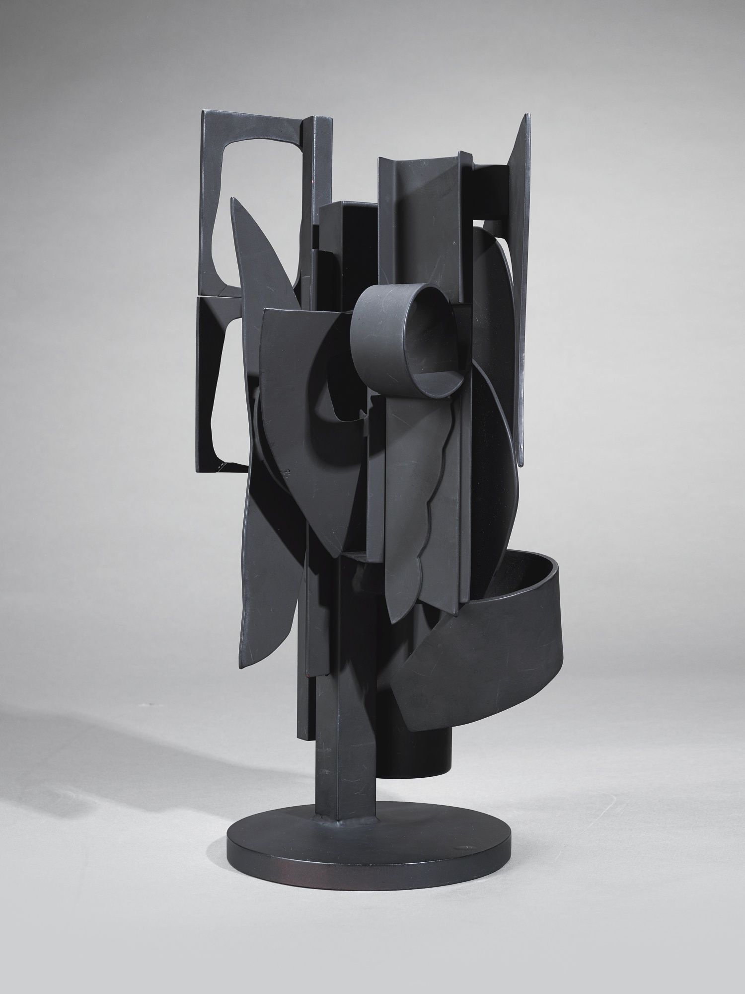 Louise Nevelson  Maquette For Sun Disc And Moon