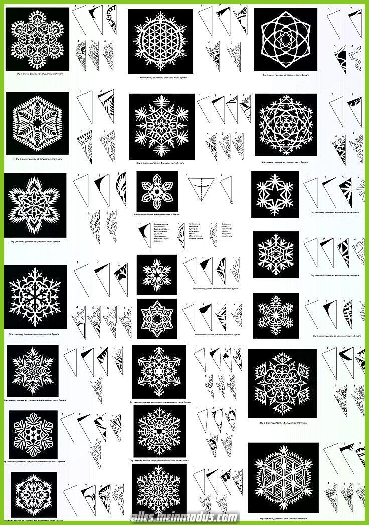 Kreative und Großartige Schneeflocke Probe #paperpatterns