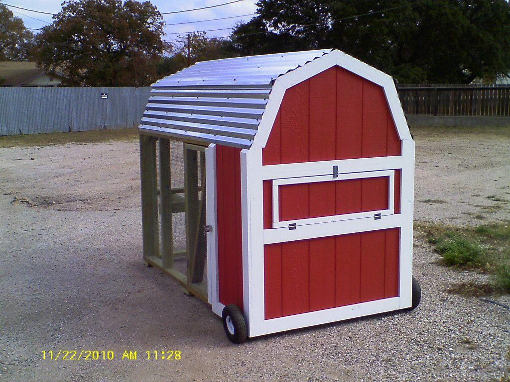 Mobile Chicken Coops Mobile chicken coop, Coop design