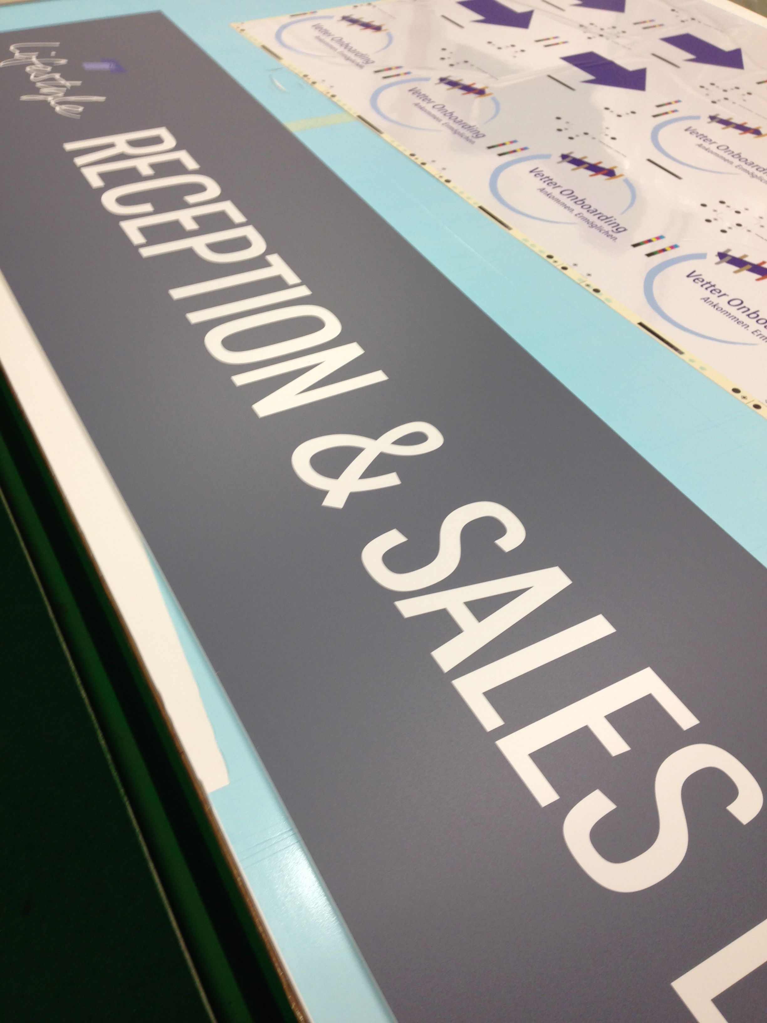 Information signs and panels printed printed to order. Print direct on to an array of sheet media in full colour. Finished in Matt, Gloss or Satin