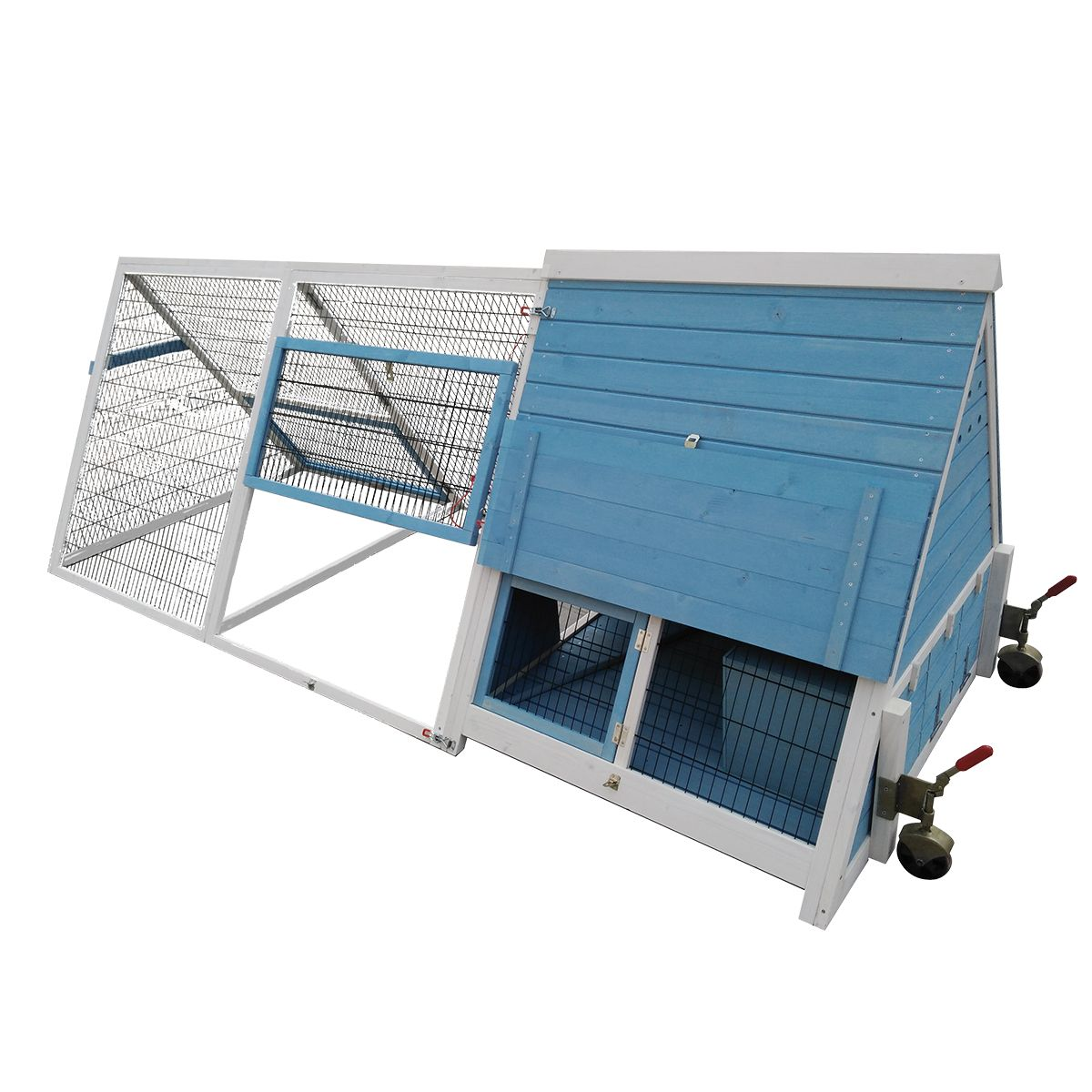 Advantek Terrace Poultry Hutch Amp Reviews Wayfair - House your feathered flock in the advantek a frame chicken coop this beautiful hutch