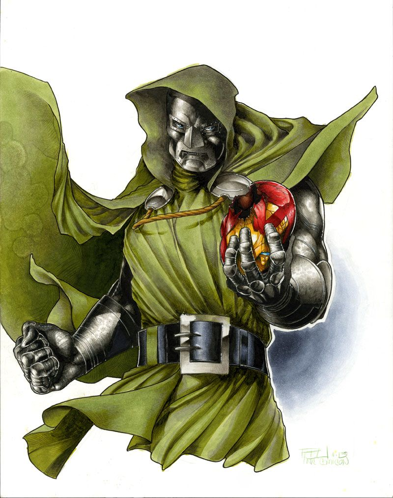 Doctor Doom NC Comicon by RichardCox on deviantART