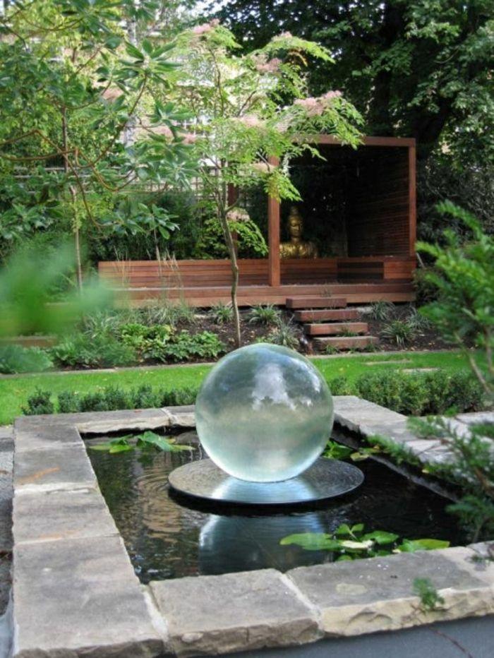 Wasserfall Im Garten Gartenbrunnen Dekoideen Garten Schönes Exterieur