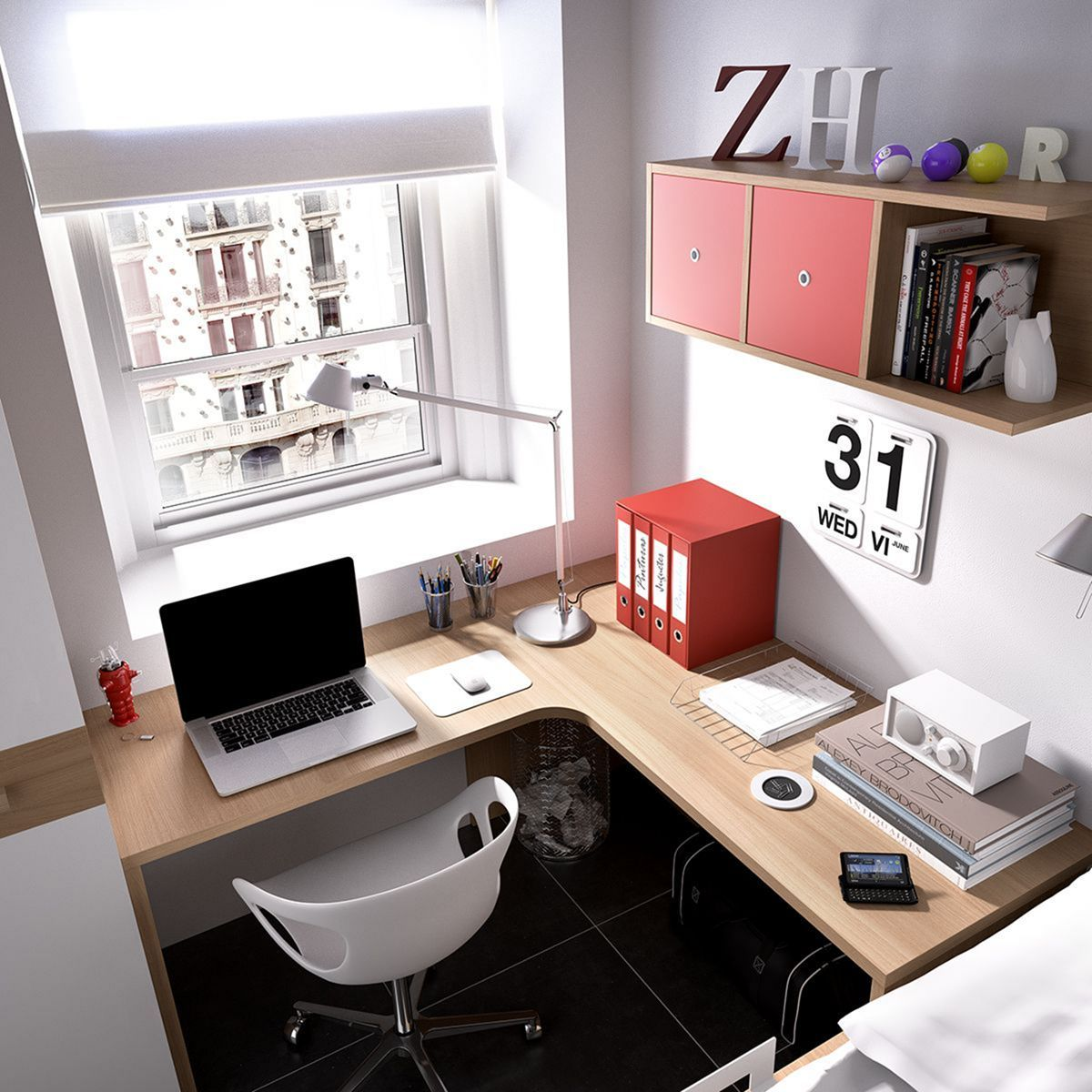 20 Home Office Designs For Small Spaces: 30 Beautiful Home Office Design Ideas For Small Spaces