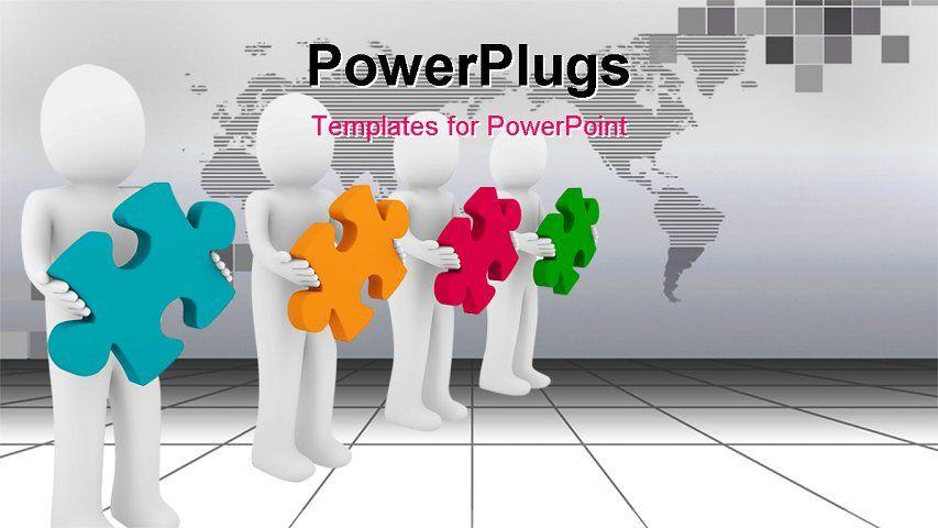 Free 3d Powerpoint Templates Free 3d Powerpoint Template Teamwork