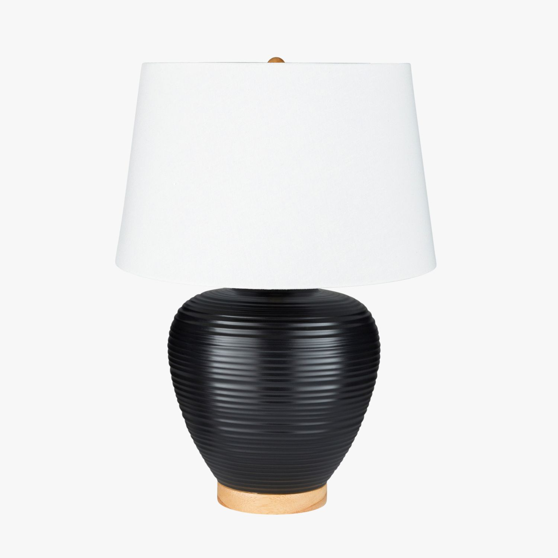 Ballinger Black Ceramic Lamp Shop Table Lamps And Lighting Dear Keaton Ceramic Lamp Lamp Table Lamp