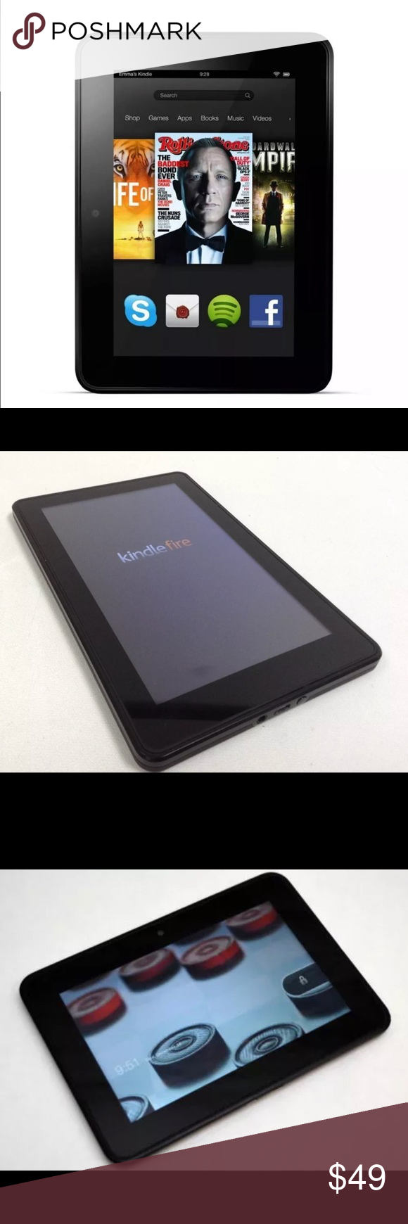 Amazon Kindle Fire HD 7 Amazon Kindle Fire 7 inch 16 GB in