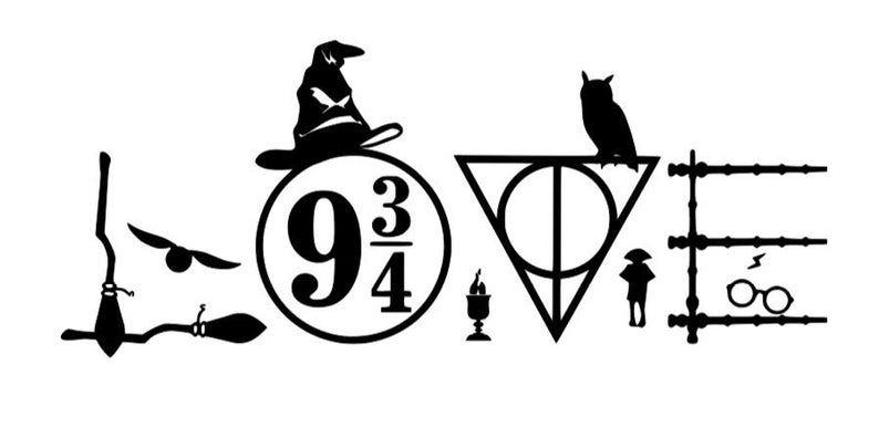 Download harry Potter inpired Love svg in 2020 | Harry potter ...