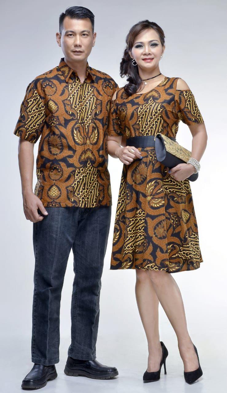 Model Baju Batik Keluarga Motif Gurdo  Batik Bagoes Solo  Model