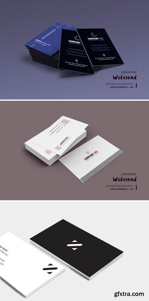 Business card template 3 photoshop pinterest card templates business card template 3 reheart Images