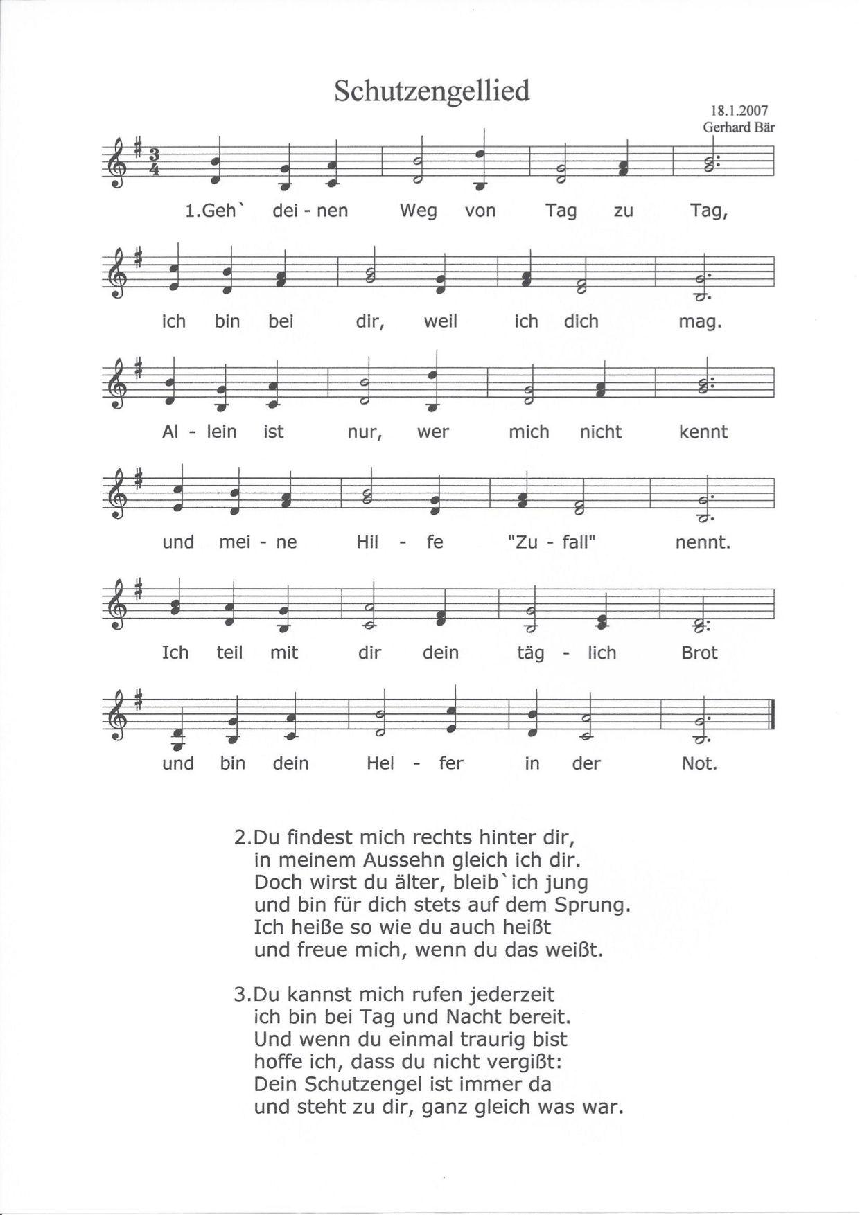 Schutzengellied | Lieder, Christliche lieder, Gottesdienst
