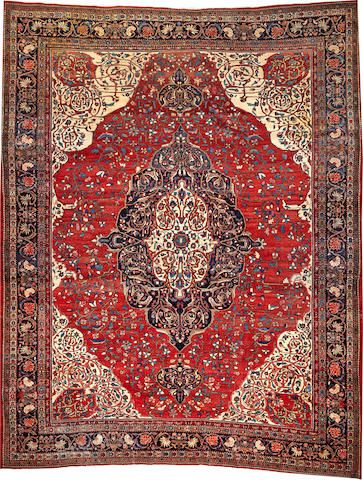 Sarouk Carpet Size Approximately 10ft 6in X 13ft 4in I Bonhams