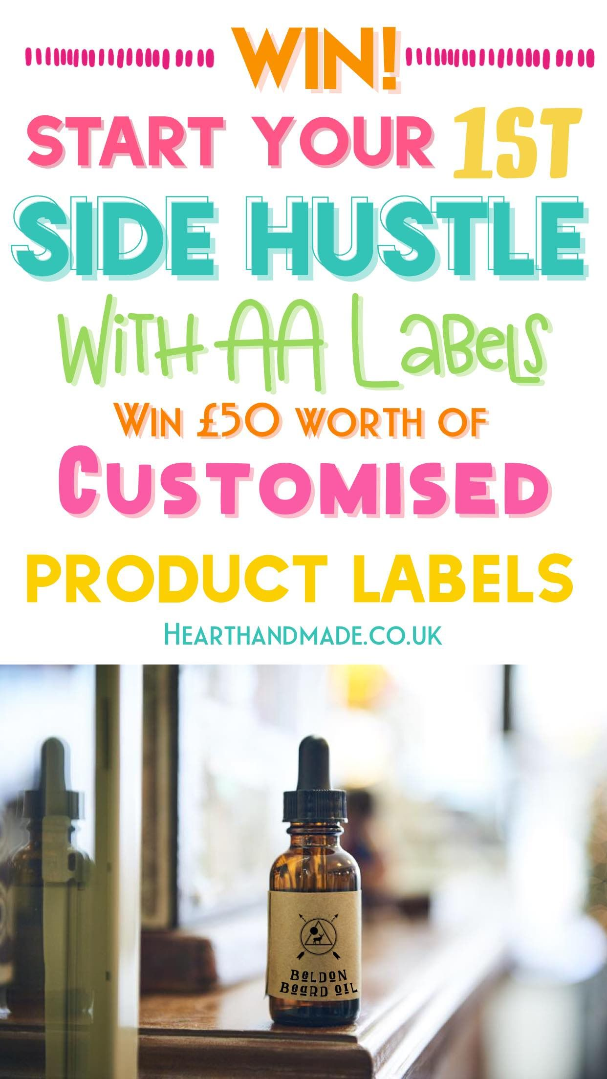 [CLOSED] Launch your Side Hustle with AA Labels' Giveaway