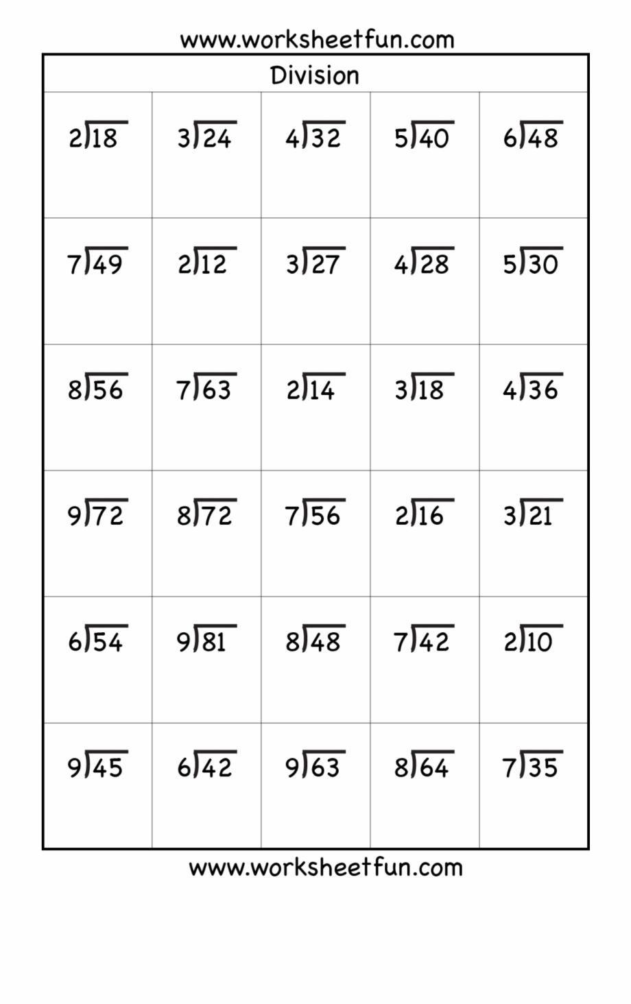 16 Printable Division Worksheets Grade 4 Math Practice Worksheets Division Worksheets Free Math Worksheets