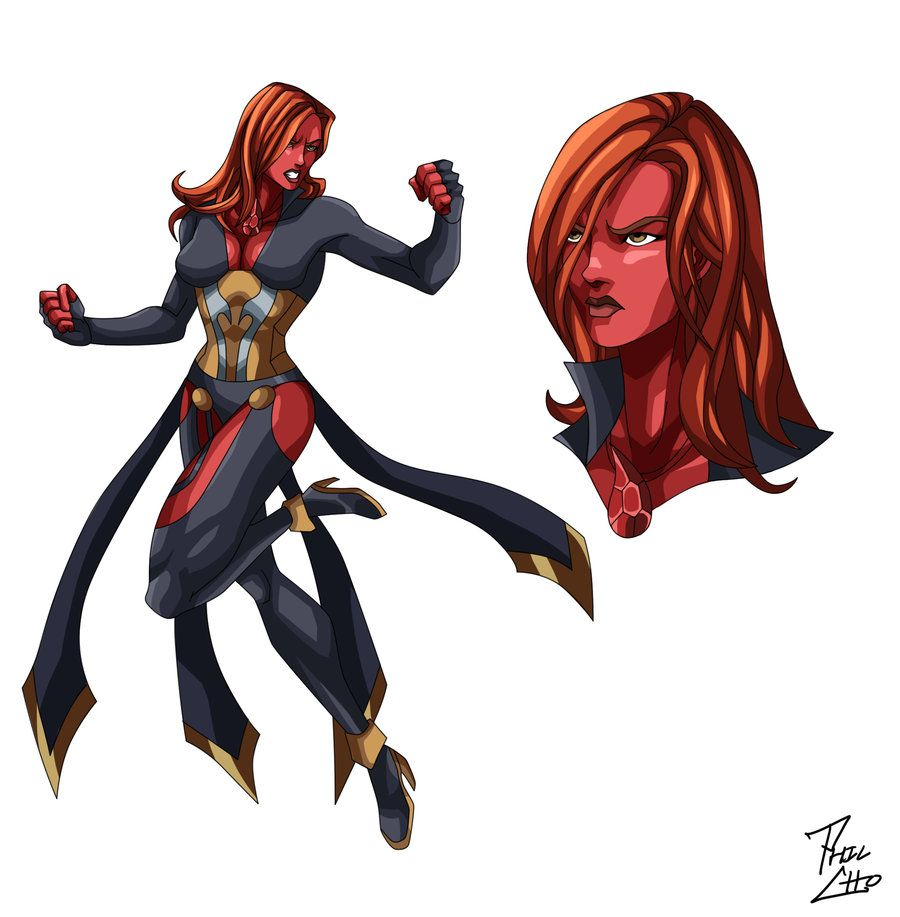 Blood Knight - OC Commission by phil-cho.deviantart.com on ...