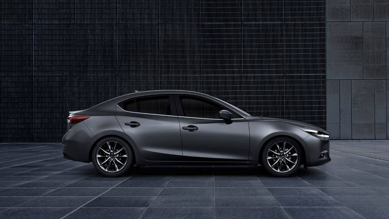 View photos and videos of the 2018 Mazda 3 4door sedan