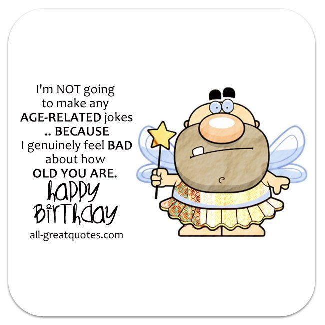 Funny Birthday Wishes Poems Write Birthday Card Funny ...