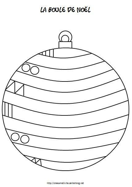 la boule de no l activit es noel et d 39 hiver pinterest no l la boule et boules de no l. Black Bedroom Furniture Sets. Home Design Ideas