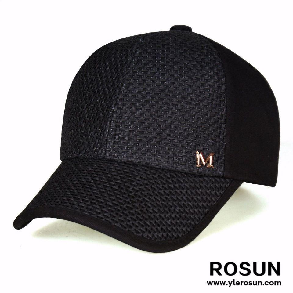 1d399afa176ef Promotional custom black no mesh trucker hat cap