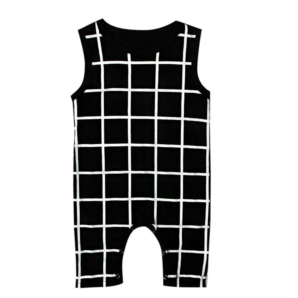 e5c76db24 Black and White Baby Jumpsuit