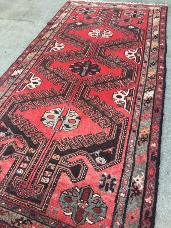 Antique Persian Heriz Runner Rug From Woven In Vintage Located Greenville And Columbia
