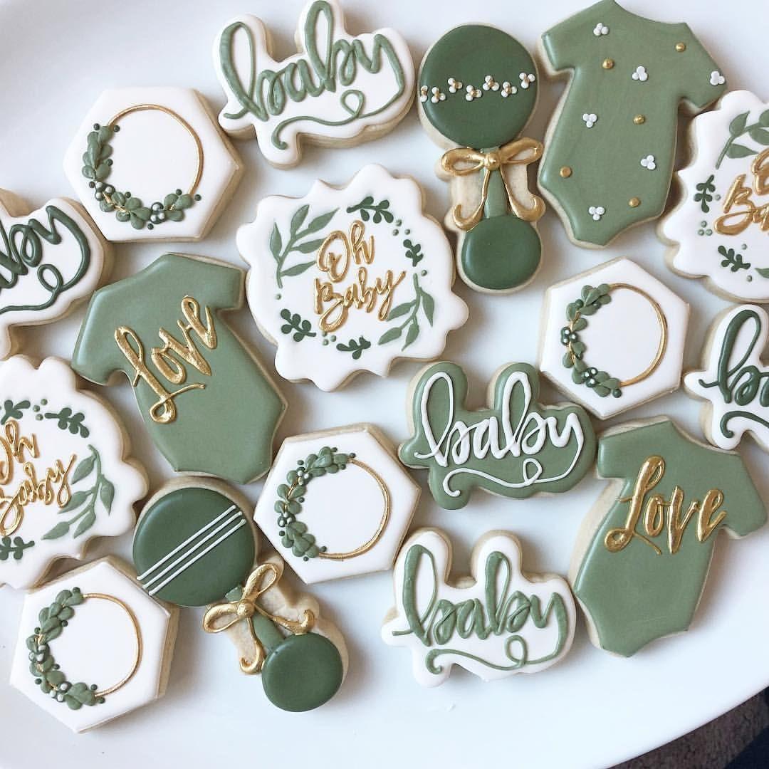 Loving All The Greenery Cookies Decoratedcookies