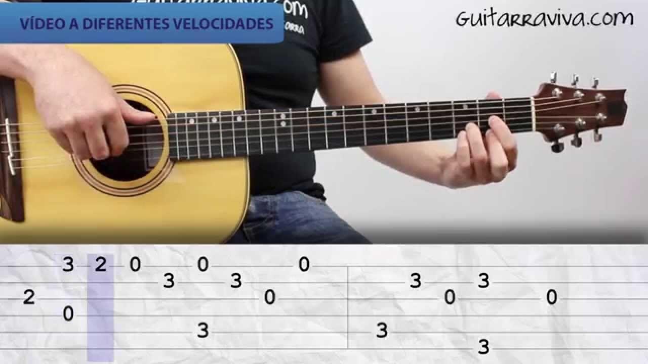 Como tocar Melendi guitarra Jardin con enanitos melendi acordes ...