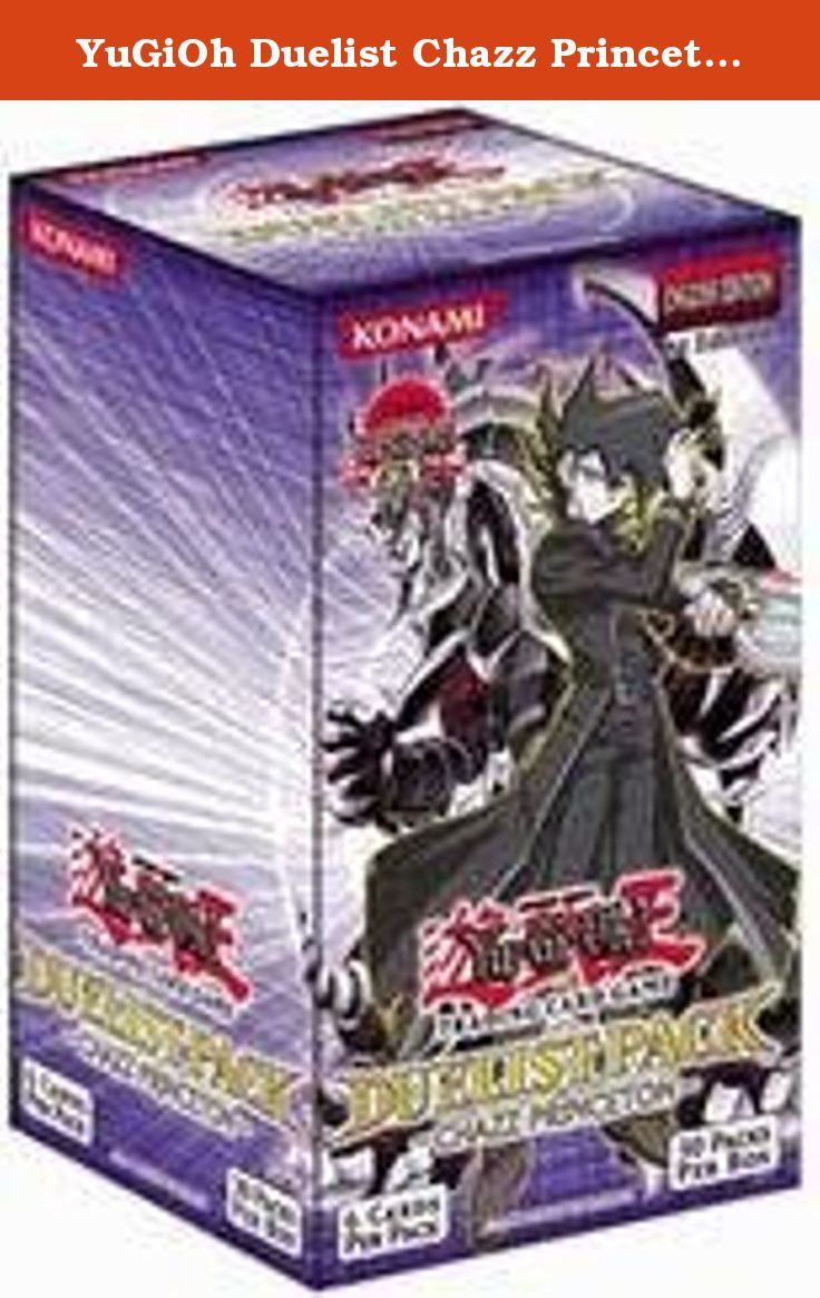 yugioh duelist chazz princeton unlimited booster box toy now