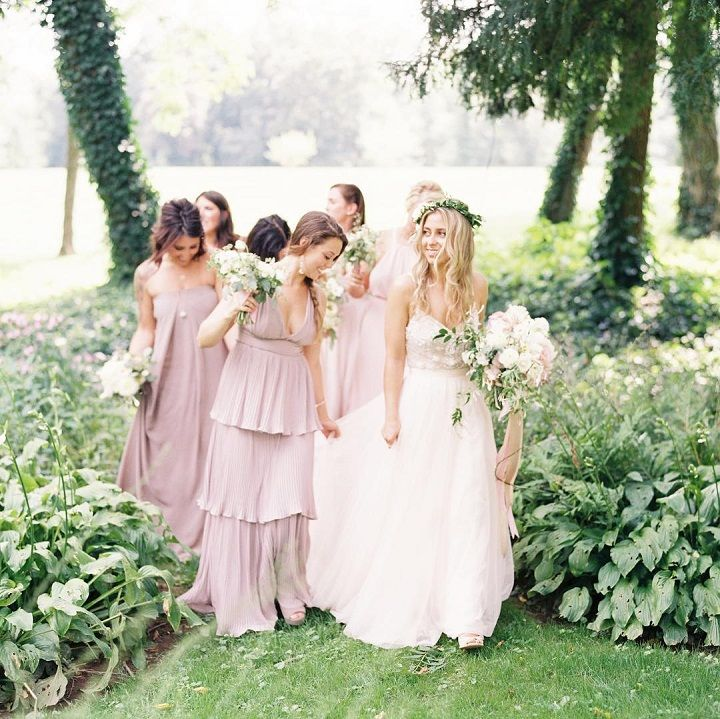f31e33b1826 44 Long Bridesmaid Dresses That You Will Absolutely Love - Fabmood ...
