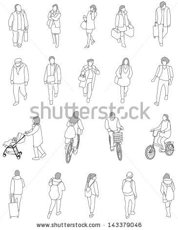 drawing of people | architectural people | pinterest | people