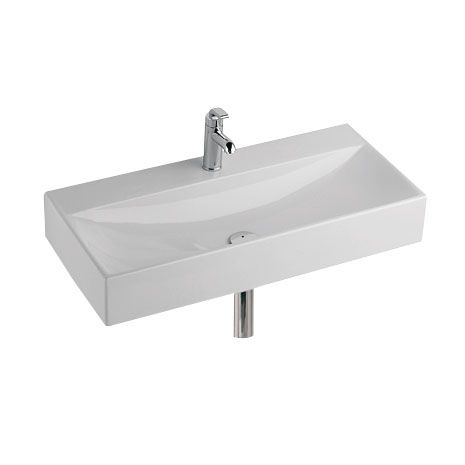 Keramag Xeno keramag xeno washbasin white with keratect with 1 tap without
