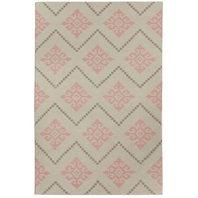 Capel Rugs Genevieve Gorder Sno Pink Area Rug | Pure Home