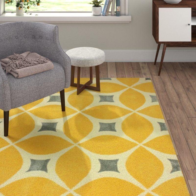 Sorrento Sunflower Gabriela Hand Woven Yellow Gray Beige Area Rug Reviews Allmodern Traditional Design Living Room Blue Area Rugs Living Room Designs