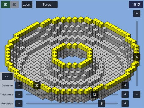 Minecraft Torus Generator
