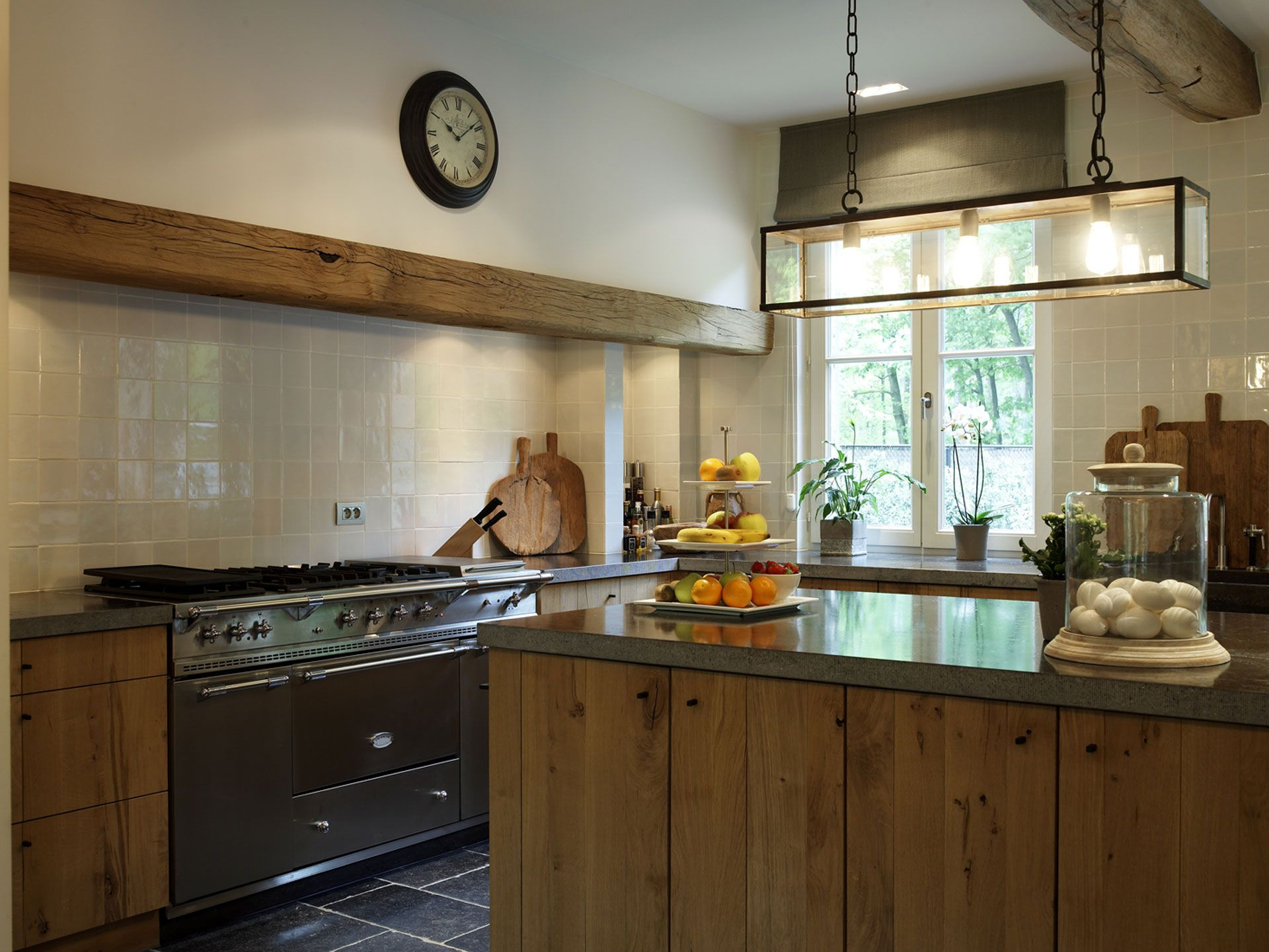 Villabouw sels cottage in the woods kitchen