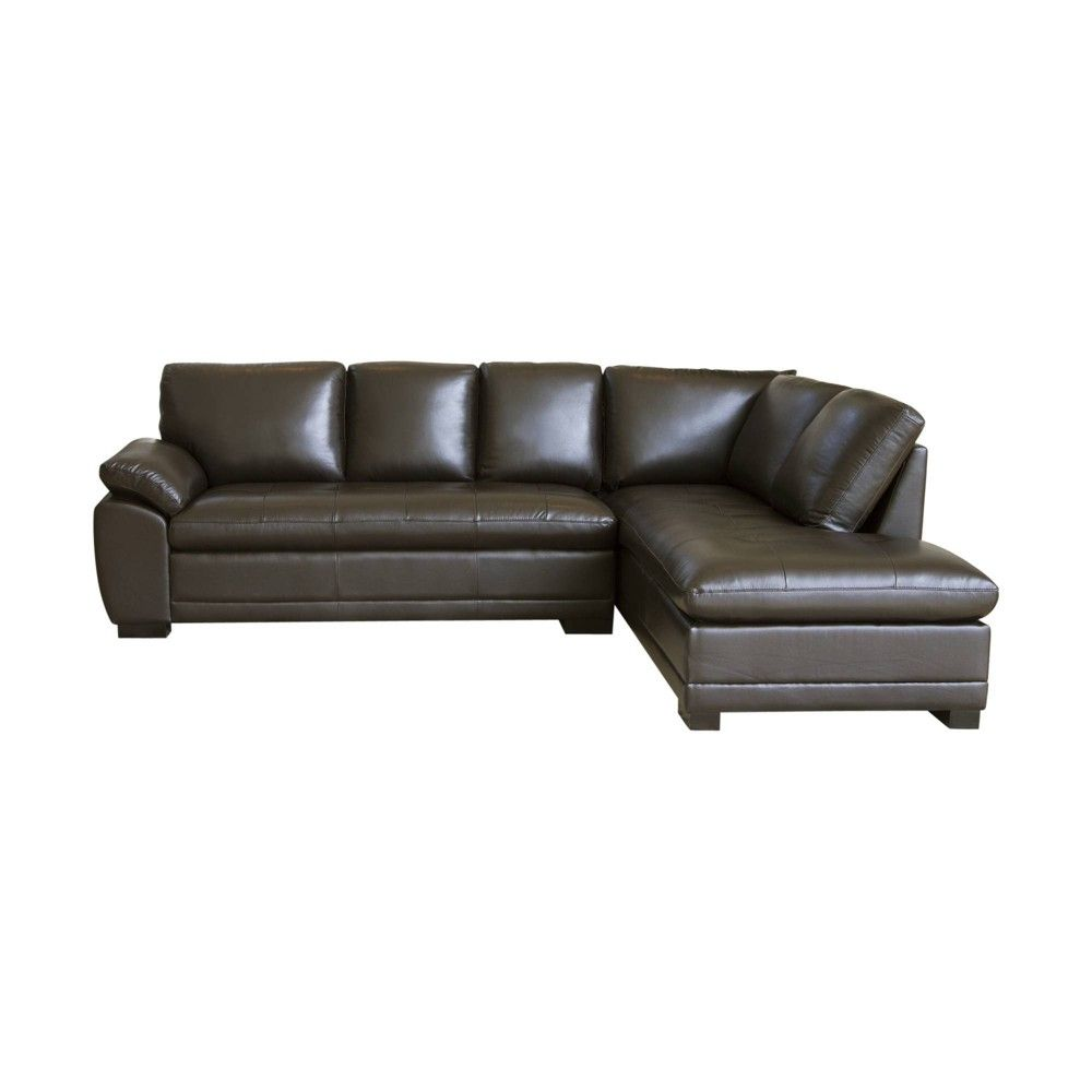 Astounding Prescott Sectional Sofa Abbyson Living Brown Products Pdpeps Interior Chair Design Pdpepsorg