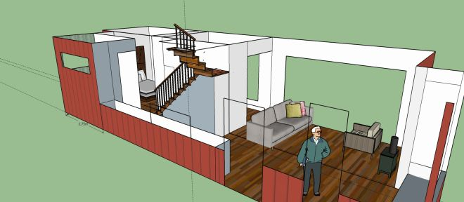 My Container Home Design And Build In A Bushfire Zone Flame Zone