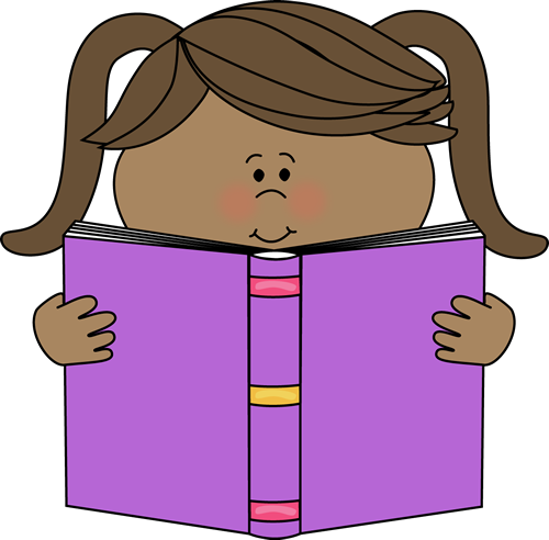 little girl reading a book van a tot z het alfabet beginnende rh pinterest com child reading books clipart reading books clipart free