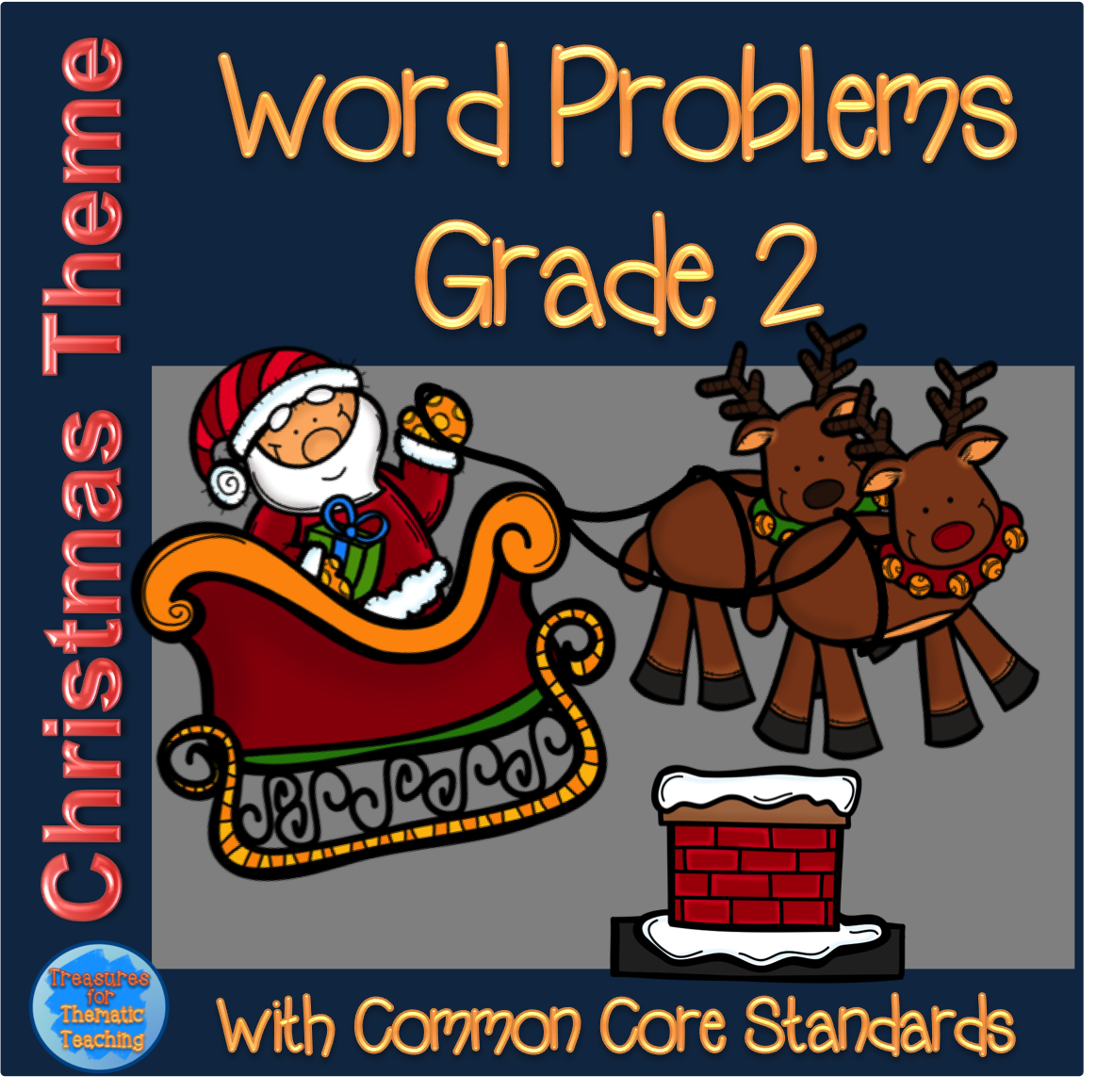 Christmas Word Problems Worksheets