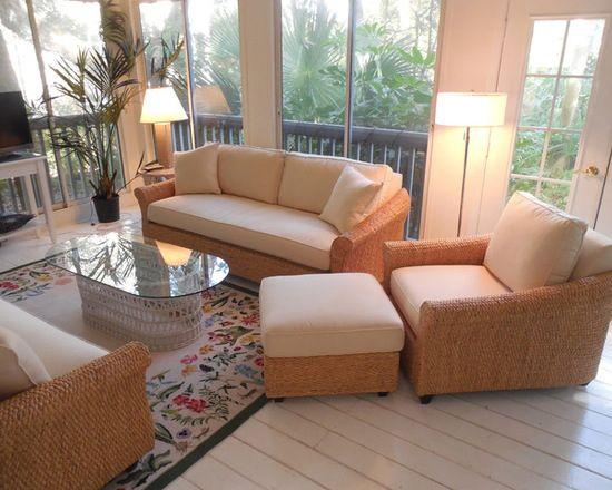 Attrayant Seagrass Sofa