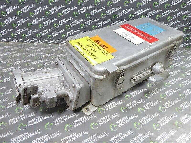 Ebay Sponsored Used Crouse Hinds Wsr6352 Interlocked Arktite Receptacle Switch 60 Amps 600vac Ebay Amp Things To Sell