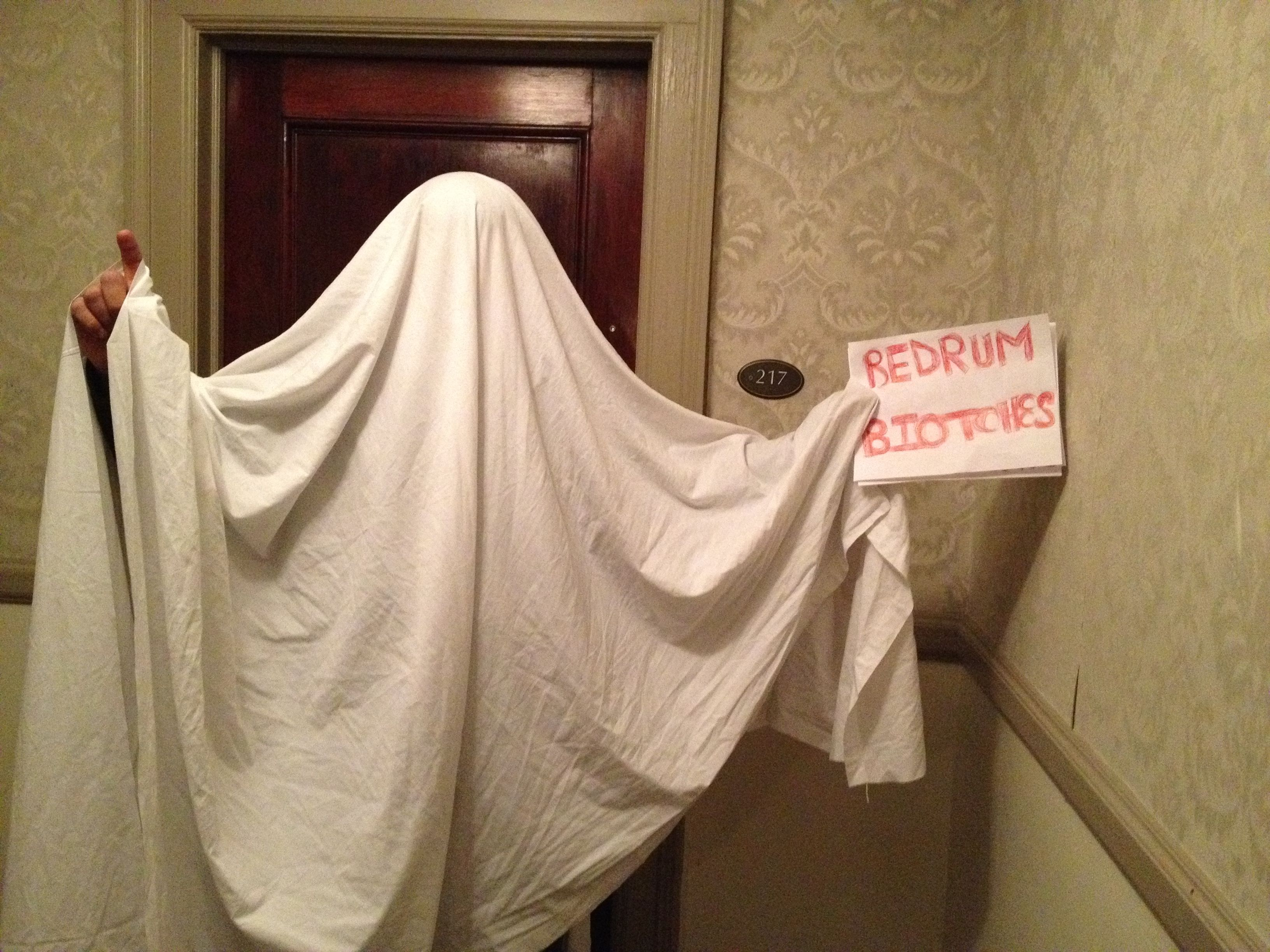 Redrum - Ghost at room 217 at the Stanley Hotel - we caught a ...