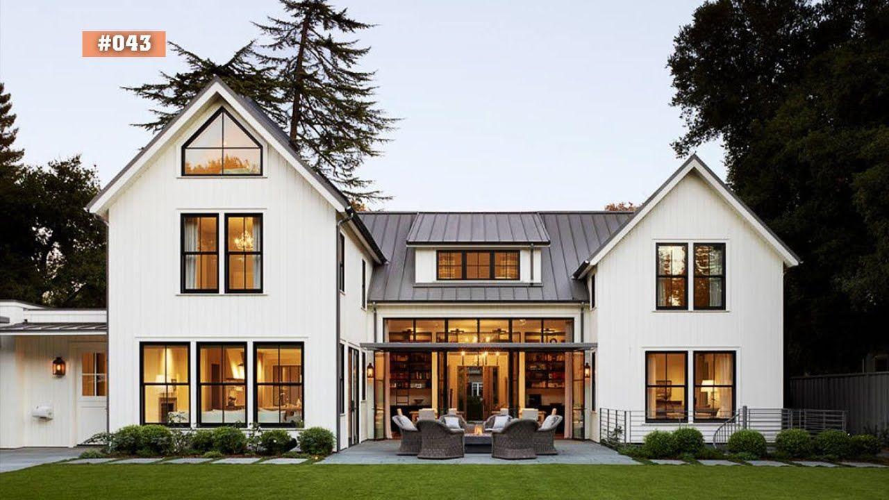 120 Lovely Farmhouse Exterior Design Ideas | Farmhouse ...